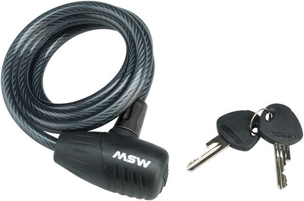 MSW KLK-100 Keyed Cable Lock