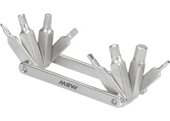 MSW MT-208 Flat-Pack 8 Multi-Tool Color: Silver