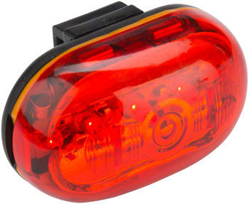 MSW TLT-001 RedBat Taillight Color: Red