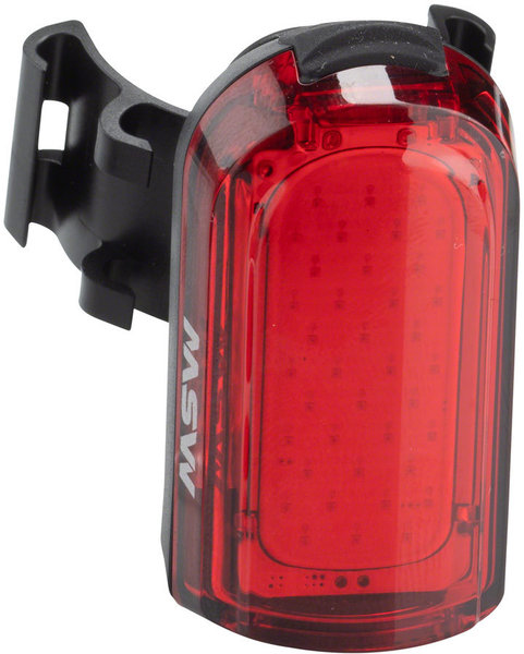 MSW Tigermoth 20-Lumen USB Taillight Color: Red