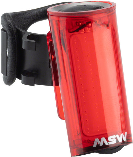 MSW Tigermoth 40-Lumen USB Taillight Color: Red
