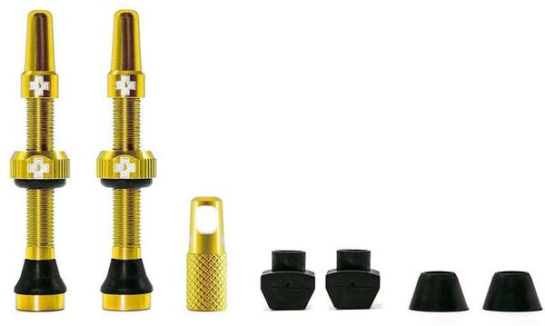 Muc-Off Tubeless Valve Color | Length: Gold | 44mm