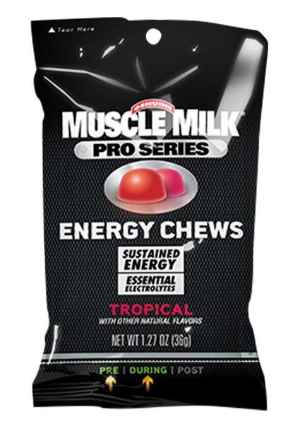 Muscle Milk Pro Series Energy Chews Flavor: Tropical
