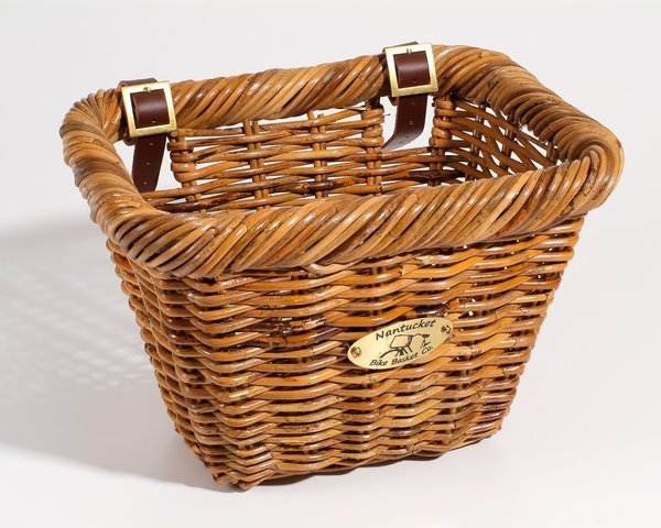 Nantucket Bike Basket Co. Cisco Adult Rectangle Basket Model: Rectangle