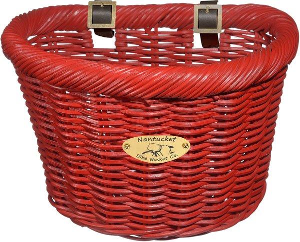Nantucket Bike Basket Co. Cruiser Adult D-Shape Basket