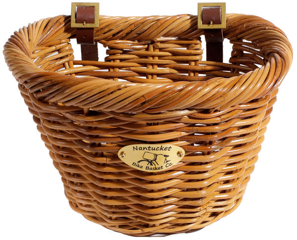 Nantucket Bike Basket Co. Cisco Adult D-Shape Basket