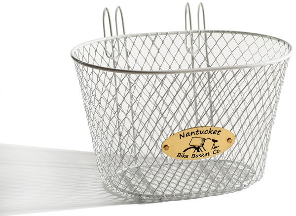 Nantucket Bike Basket Co. Kids' Surfside Basket Color: White