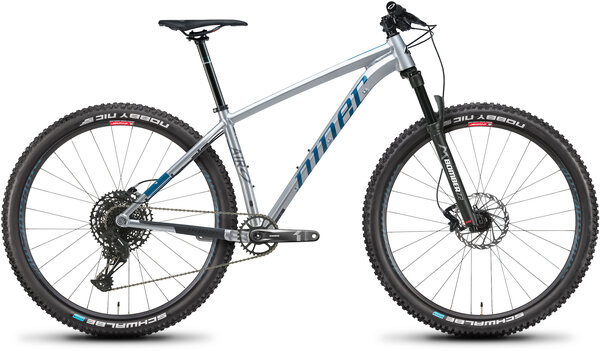 Niner AIR 9 2-Star Color: Silver/Baja Blue