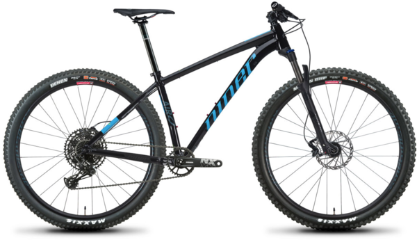 Niner AIR 9 2-Star NX Eagle 29 Color: Black/Cyan
