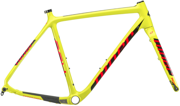 Niner BSB 9 RDO Frameset Color: Yellow/Red
