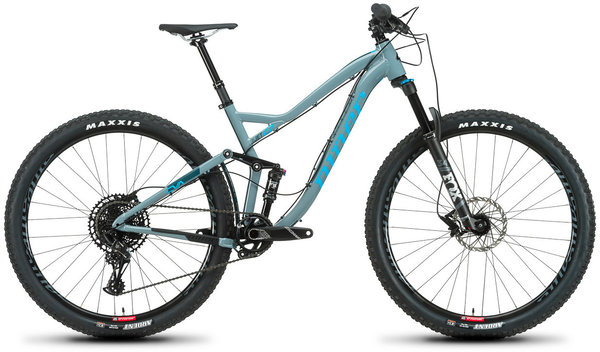 Niner JET 9 Alloy 2-Star NX Eagle Color: Grey/Blue