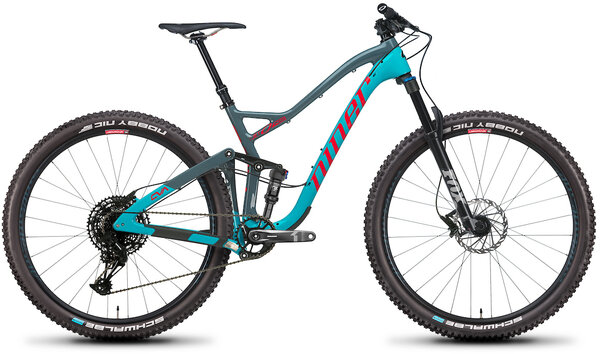 Niner JET 9 RDO 2-Star Color: Teal/Slate