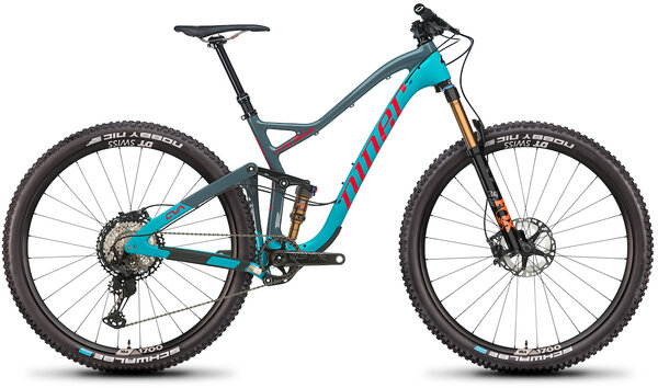 Niner JET 9 RDO 4-Star Color: Teal/Slate