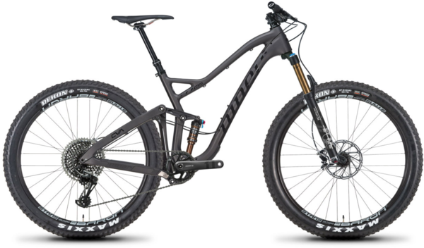 Niner JET 9 RDO 4-Star X01 Eagle 27.5+ Color: Licorice