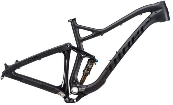 Niner JET 9 RDO Frame Color: Licorice