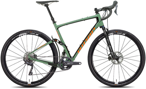 Niner MCR 9 RDO 4-Star 1x Color: Olive Green/Orange