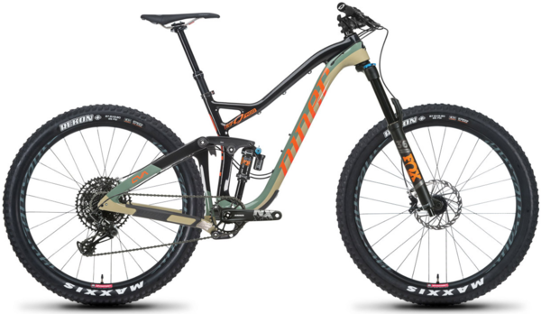Niner RIP 9 RDO 2-Star NX Eagle 27.5+ Color: Camouflage