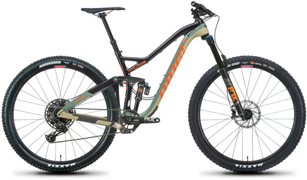 Niner RIP 9 RDO 2-Star NX Eagle 29 Color: Camouflage
