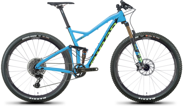 Niner RKT 9 RDO 5-Star X01 Eagle Color: Blue/Green