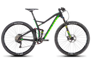 Niner RKT RDO 2-Star SLX Image differs from actual product. RKT 9 RDO 3-Star shown.