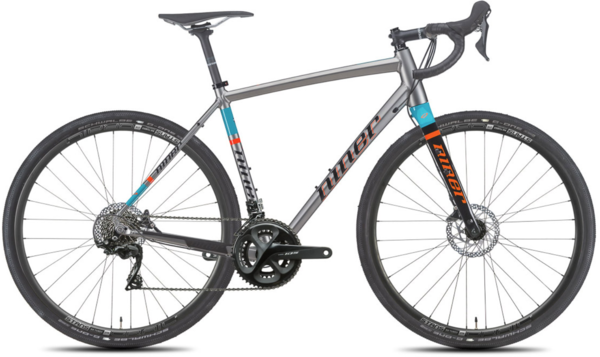 Niner RLT 9 3-Star 105 Color: Forge/Teal/Orange