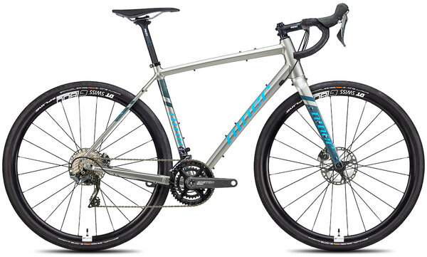 Niner RLT 9 4-Star 2x Color: Forge Grey/Skye Blue