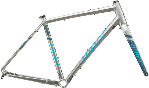 Niner RLT 9 Frameset Color: Forge Grey/Skye Blue