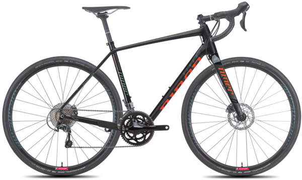 Niner RLT 9 RDO 2-Star Tiagra Color: Black/Orange