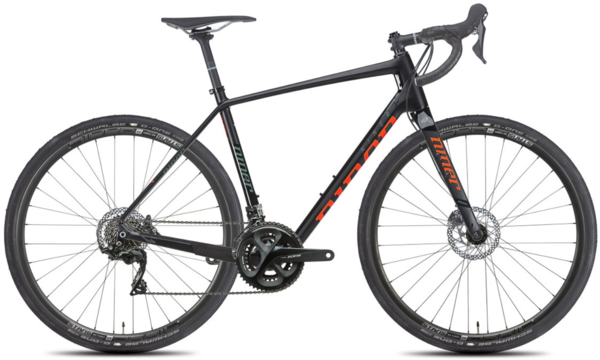 Niner RLT 9 RDO 3-Star 105 Color: Black/Orange