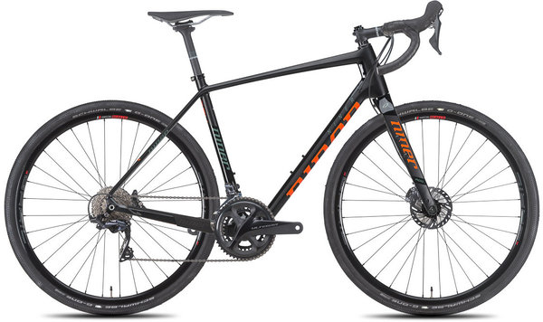 Niner RLT 9 RDO 4-Star Color: Black/Orange