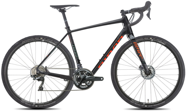 Niner RLT 9 RDO 4-Star Ultegra Color: Black/Orange