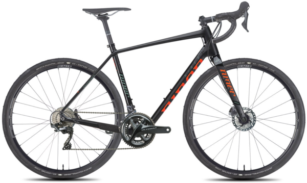 Niner RLT 9 RDO 5-Star Ultegra Color: Black/Orange