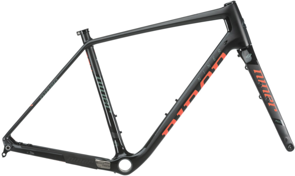 Niner RLT 9 RDO Frameset Color: Black/Orange