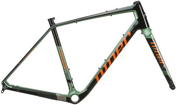 Niner RLT 9 RDO Frameset Color: Olive Green/Orange