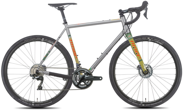 Niner RLT 9 Steel 4-Star Ultegra Color: Orange-A-Tan
