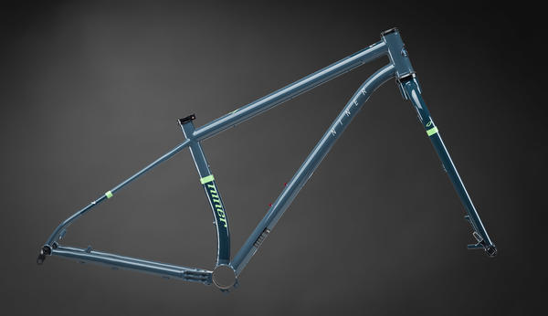 Niner ROS 9 Plus Frameset Color: Blue/Green