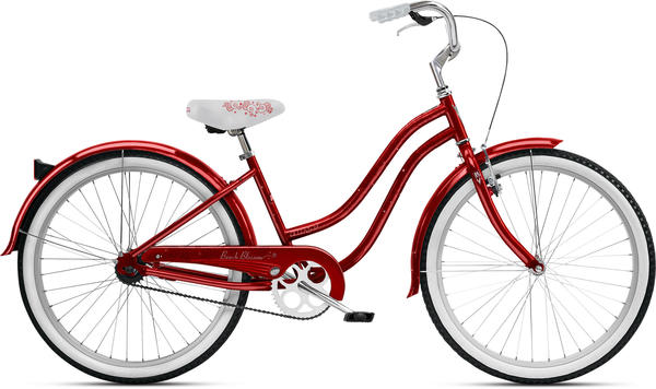 Nirve Beach Blossom (1-Speed) - Women's Color: Glitter Red
