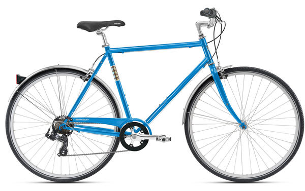 Nirve Berkeley (7-Speed) Mens Color: Cosmo Blue