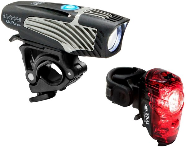 NiteRider Lumina 1200 Boost/Solas 250 Combo Color: Black