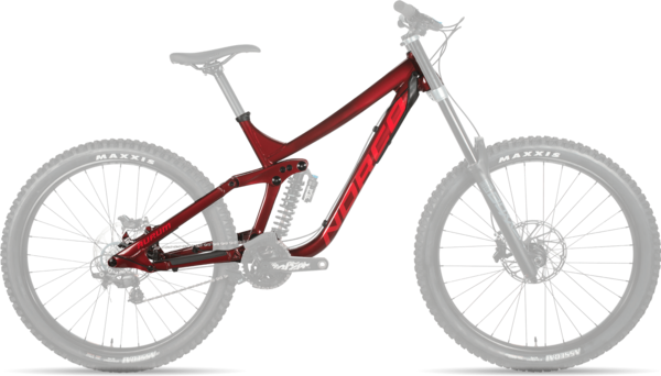 Norco Aurum A Frame Color: Red