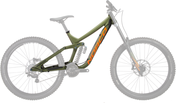 Norco Aurum A1 Frame Color: Green