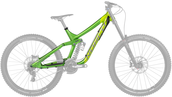 Norco Aurum A7 Framekit Color: Green/Green
