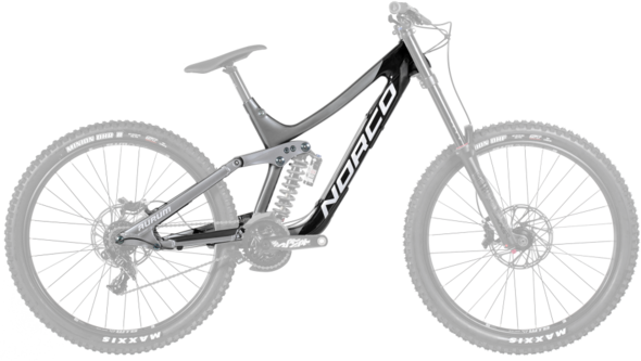 Norco Aurum C7 Framekit Color: Black/Silver