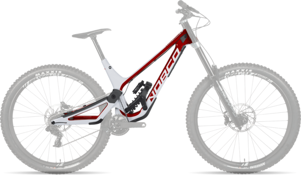 Norco Aurum HSP Frame Color: Red/White