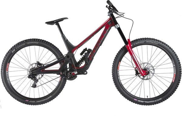 Norco Aurum HSP1 Color: Black/Red