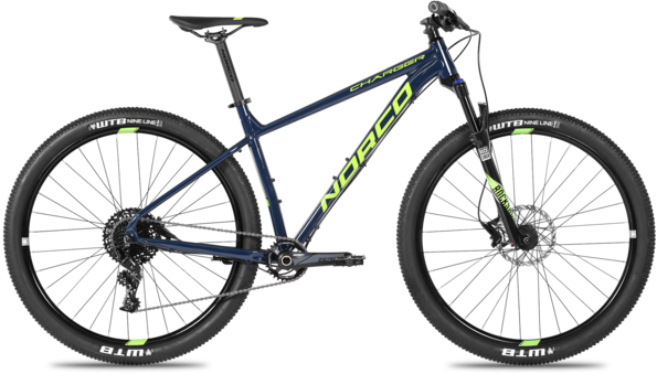 Norco Charger 1 Color: Blue/Green/Grey