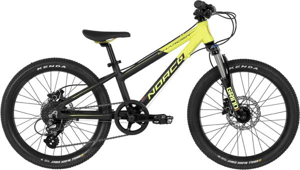 Norco Charger 2.1 Color: Black/F. Yellow/Red