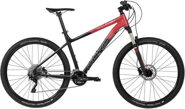 Norco Charger 7.1 Color: Red/Black/White