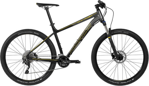Norco Charger 7.2 Color: Charcoal/Black/Yellow