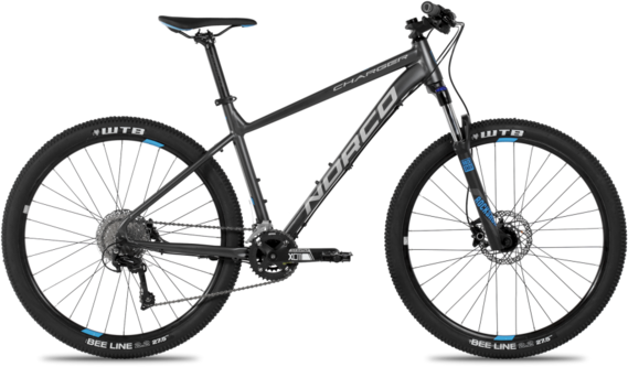 Norco Charger 7.3 Color: Charcoal/Grey/Blue